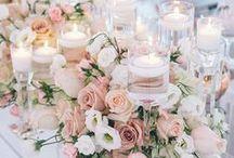 Wedding Centerpieces / An inspirational board for wedding centerpieces