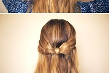new hair styles to try♥ / by Laura Siguenza