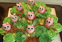 3 C's      Cake-Cupcake-Cookies / by Kellie Mack Rarick