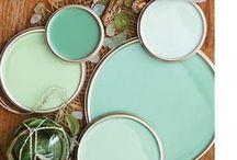 | Agua, mint, turquoise |