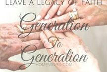 Leave a Legacy / Build your legacy! Celebrate God in the everyday tasks you do that one one notices.