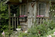 cottages-cabins & potting sheds / by debra gentosi-roberts