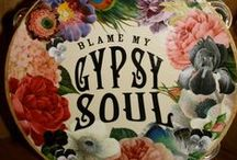 """ThE gYpSiE bOhO iN mE & YoU Too! / The free spirit of the gYpSiE - the """"what makes """"you"""" feel beautiful choice of clothes, hair and jewelry"""" the minimalist-the extremist AND also the violin music that resonates with ALL our gYpSiE spirits- the choice of what lies within as opposed to that which lies on the outside-the caravan-the mystic........and on and on........"""