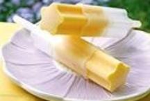 ice cream :) ice pops :) icy cold treats :) yum!