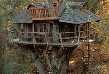 a tree house......how magical!