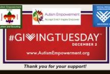 Giving to Autism Empowerment / Our non-profit 501(c)3 depends on generosity, altruism, incredible volunteers and people who believe in changing the world for the better! You can do that with Autism Empowerment, one gift at a time!  THANK YOU! www.AutismEmpowerment.org