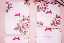Wedding Mood Board - Pink