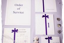 Wedding Mood Board - Purple