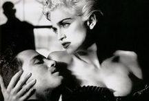 White Heat: Madonna by Helmut Newton / White Heat: Madonna seen through the eyes of Helmut Newton (Vanity Fair, April 1990) http://oigofotos.wordpress.com/2014/01/23/helmut-newton-madonna-provocacion-sensualidad-combinacion-infalible-explosiva/