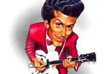 Chuck Berry art (drawings & paintings) / Art inspired by Chuck Berry pictures  http://oigofotos.wordpress.com/2014/03/14/chuck-berry-la-incombustible-personificacion-del-rock-roll-a-traves-de-sus-magistrales-canciones/