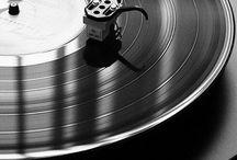 Turntable and vinyls / by Nicolas Rebolledo