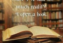 Reading / Books are drugs for the imagination...  And I'm addicted