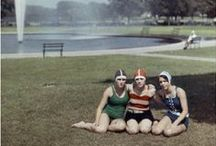 30er Jahre in Farbe / Buntbilder der 30er / Vintage Colour Photos of the 30's