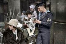 20er Jahre in Farbe / Buntbilder der 20er / Vintage Colour Photos of the 20's