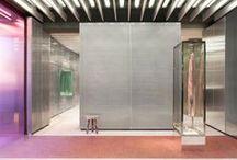 RETAIL DESIGN (Magazin afi ) / Interesting interior design for different shops.