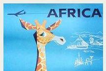 Vintage Reisen Afrika