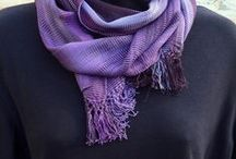 Fair Trade Scarves and Wraps / Handmade scarves available from the Women's Peace Collection, benefitting women in fair trade cooperatives.