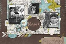 B2N2 Scraps Designs on my pages