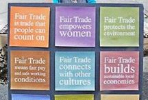 Why We Love Fair Trade / Fair trade empowers people all across the globe with fair wages, excellent working conditions and sustainability!