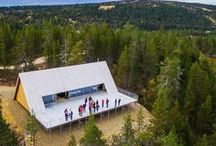 Cabins & Huts / Cabins and huts in Finnish Lapland