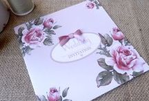 Vintage Rose Collection by Sarah Alexis Stationery / available on our website: www.sarahalexisstationery.co.uk