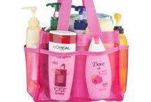 Dorm Organizers / Great home shower ideas http://tinyurl.com/zesps5d
