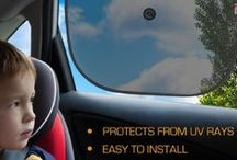 Car Safety Tips / Great child protection against extreme heat when in road trip... http://x-shade.com/collections/x-shade-products