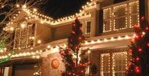Trim Your Home for the Holidays! / Whether you love lights or wreaths, find inspiration for decorating your home's exterior for the holiday season!