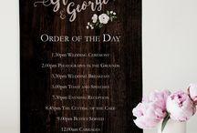 Wedding Signage / A range of wedding venue signage available on our website www.sarahalexisstationery.co.uk