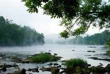 New River / The beautiful and historic New River as it flows gently through Giles County offers top smallmouth bass fishing and a variety of family fun.
