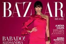 Alessandra Ambrosio covers Harper's Bazaar Brazil June 2013 / Alessandra Ambrosio by Terry Richardson