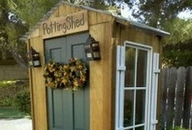 Perfect Potting Sheds / Customize your Green Shed to include flower boxes, a wrap-around deck, or steps.