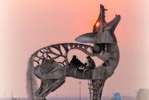 My Burning Man Photo Obsession / My obsession with this festival burns every time I see another Burning Man photo.