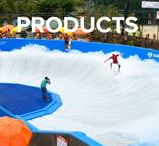 FlowRider Products / FlowRider has a family of sheet wave products and over 190+ installations around the world.  It's insane!  Check out our latest ride - WaveOz.