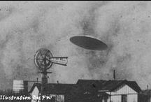 Ufos / An unidentified flying object, or UFO, in its most general definition, is any apparent anomaly in the sky that is not identifiable as a known object or phenomenon. Such anomalies may later be identified, but depending on the evidence or lack of evidence, such an identification may not be possible generally leaving the anomaly unexplained.