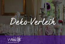 ♡ HOCHZEITSDEKO VERLEIH / Hochwertige Hochzeitsdeko findest du in unserem Dekorationsverleih bei weddstyle. Wir haben die grösste Auswahl an Tischdeko und Vintage Dekoration im Rhein-Main Gebiet. Besuche uns in unserem Showroom und lass dich von unserem Verleih-Sortiment inspirieren. / by ♡ weddstyle.de ♡ Hochzeitsdekoration