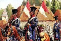 Imperio Napoleonico / El Primer Imperio francés, conocido comúnmente como Francia Napoleónica, Imperio Napoleónico o simplemente Imperio Francés, fue un estado soberano que abarcó en territorio una gran parte de Europa occidental y central; tuvo además numerosos dominios coloniales conocidos como Francia de Ultramar y estados satélites. Abarca la totalidad del periodo conocido como la Era Napoleónica, que cubre el periodo desde la coronación de su emperador, Napoleón Bonaparte hasta su abdicación, en 1815.