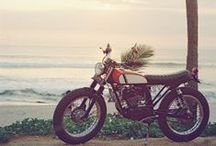Motorbikes / We do not wish ourselves back to vertain places, but to special emotions those places sparked - Sigmund Graff