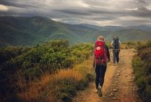 Hiking / Before men can move the earth, they have to move themselves -Socrates