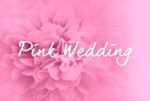 ♡ PINK / ROSA HOCHZEITSDEKO / by ♡ weddstyle.de ♡ Hochzeitsdekoration