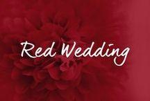 ♡ ROTE HOCHZEITSDEKO / by ♡ weddstyle.de ♡ Hochzeitsdekoration