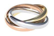 #argollas de #matrimonio / #argollasDeMatrimonio en #oro de18k con #diamante.