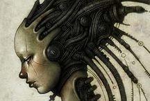 Cyberpunk-Sci Fi