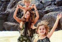 Alessandra Ambrosio: GLAMOUR Magazine - April 2015 / Alessandra Ambrosio, Anja Louise Ambrosio Mazur, Noah Phoenix Ambrosio Mazur, Glamour Magazine April 2015.