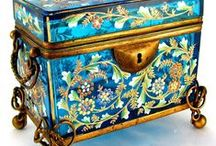 Jewelry Box / Jewelry Boxes, And The Exquisite Jewelry To Put In Them / by Caroline