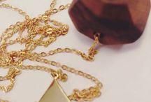 Jewelry / Holz und Metall