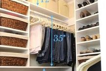 Closet Tips / Organizing Hall & Entry Way Closets :: Master Closets :: Shared Closets :: Linens :: Utility