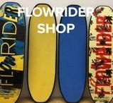 FlowRider Shop / www.flowridershop.com is the place to go to purchase FlowBoards and Flow accessories. The latest technology and fashion in one secure online shop.