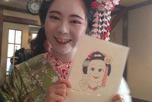 Kikukame 菊亀 - Maiko of Ganrinin , Nara