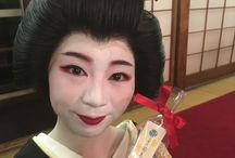 "Kikukame 菊亀 - Geiko of Nara, Ganrinin / Photos and movies of ""Kikukame"" cute, for the first time in 22 years new Geiko in Nara that I chose innocently."